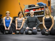 Brad, Carolee, Dena, Jen.  RAD Boot Camp.  Woodbury, Minnesota.